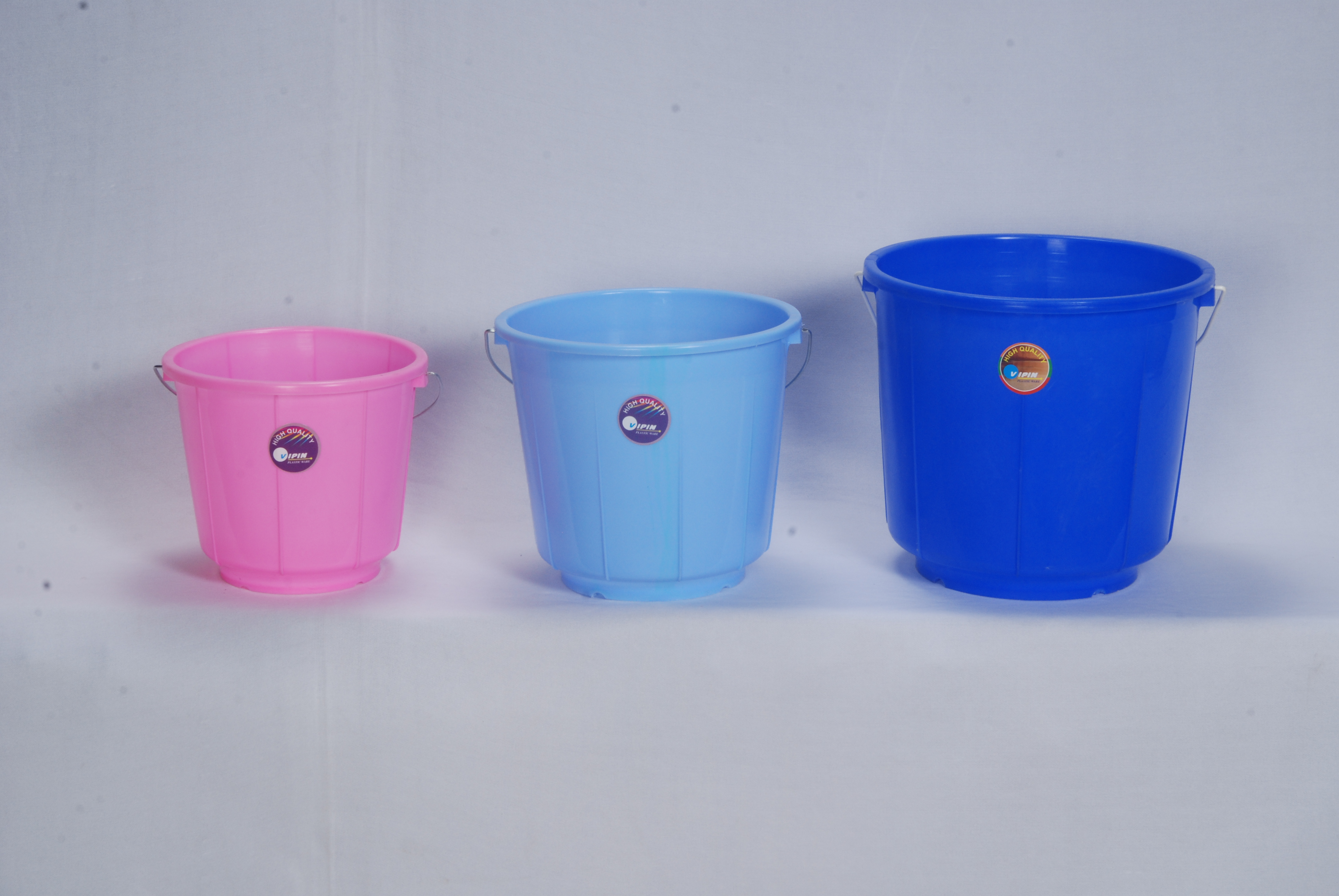 Buckets 3, 5, and 9 Litres